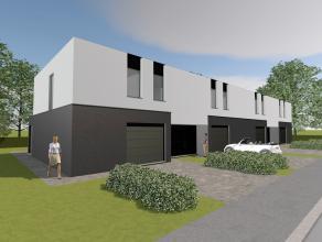Hou je van een mix van wit crepi en gevelsteen? Dan heeft Homebird deze prachtige moderne woningen met garage, 3 slaapkamers met tuin en terras zuidge