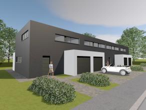 Prachtige moderne woning met garage, 3 slaapkamers met tuin en terras zuidgericht. Gelegen te Geraardsbergen-Goefferdinge, achterliggend de Oudenaard