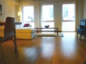 """Ruim """"all-in gemeubeld"""" 2 slaapkamer appartement met terras gelegen in Berchem (binnen de singel). Nabij op- en afritten richting Nederland - Brussel"""