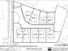 9 Loten bouwgrond te Merelbeke Wonen in een oase van rust in centrum Merelbeke.Het project Hof ter Wallen is heel rustig en toch centraal gelegen, op