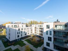 Residentie Bellevue - Prachtige penthouse op de 4e verdieping. Ruim appartement van +- 108m² en een terras van +- 15m², bestaande uit : inko