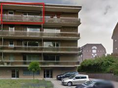 Appartement te huur in Heverlee (Celestijnenlaan) met ruime keuken, grote living, 2 slaapkamers, garage, balkon, grote gemeenschappelijke tuin, inbraa