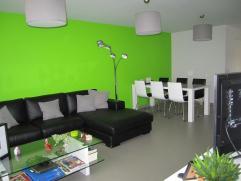 Gelijkvloers appartement op wandelafstand van de Markt van Retie. Het appartement bestaat uit één ouderslaapkamer, één kin