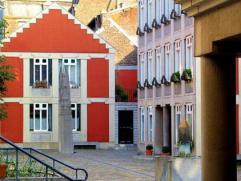 Magnifique duplex Cour Saint Antoine, dans le cœur historique de Liège. Composé d'un séjour, d'une cuisine ouverte enti&egr