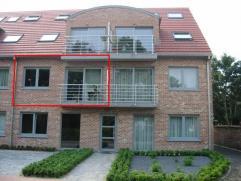 Rechtstreeks van de eigenaar.   Bijna nieuw appartement ( bj 2007 ) te huur in de Hoogwegel 79 te Gistel (rustige straat). Het appartement zal vrij zi