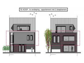 Mooi, ruim en recent gebouwd appartement (110 m2) landelijk gelegen te Kalmthout. Het appartement op de 1e verdieping, dat deel uitmaakt van een klein