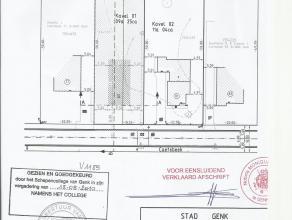 mooie open bouwgrond op de grens van Diepenbeek/Genk rustige ligging met veel nieuwbouw woningen