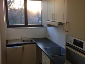 Rustig gelegen appartement (76m²) met terras (7m²), kelder (8m²) en garage (18m²) aan de groene stadsrand met afstand tot bushalte De Lijn (150m), gro