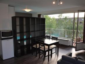 Recent gerenoveerde, ruime, gemeubelde studio. Schitterende locatie: gelegen op minder dan 1km van Gasthuisberg, Arenberg, IMEC en op minder dan 5 min
