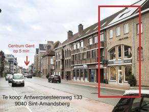 <br /> Huis  te koop met ruimte voor 50% privé en 50% professioneel tot opp. 295m2.<br /> <br /> Jonge woning uit 1990 dicht bij Gent (5min. fiets, 1