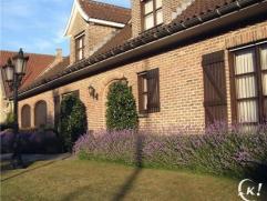 Riante villa met 6 slaapkamers op 20km van Brugge en Oostende, geschikt voor vrij beroep of Bed & Breakfast, rustig gelegen en op wandelafstand va