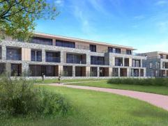Ruime appartementen tussen 70 en 100 vierkante meter, gelegen op een toplocatie te Aalst. De speelse architectuur sluit perfect aan bij de groene omge