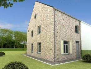 Kapelle-op-den-Bos: Nieuw te bouwen woning in een doodlopende straat met enkel plaatselijk verkeer. Goede verbinding naar centrum, winkels, Londerzeel