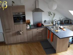 Appartement duplex entièrement rénové,une chambre à coucher, cuisine super équipée, situé