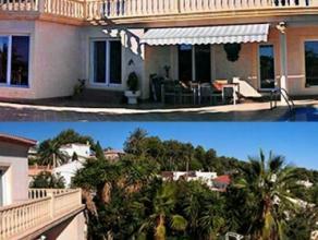 Regio : Costa BlancaProvincie: AlicanteStad/dorp : 03724 Moraira (Teulada)Mooie villa met zeezicht (+- 330m², 4 slaapkamers) met meerdere terrass