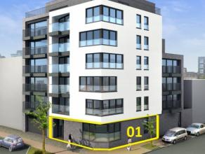 Nieuwbouwappartement met 1 slaapkamer 67 m², op het gelijkvloers. Bewoonbaar vanaf 1 maart 2016. Inclusief parking en kelderberging in de residen