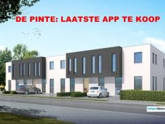 """PRACHTIG NIEUWBOUW APPARTEMENT MET TERRAS! ALLERLAATSE APP TE KOOP! Residentie """"St.-Pierre"""" biedt u 8 stijlvolle nieuwbouw appartementen aan! Dit appa"""