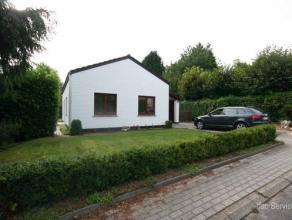 Très beau bungalow avec beau jardin dans un lotissement résidentiel à Tervuren, sur une parcelle de 5,44are - bonne orientation,