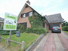Maison située dans un quartier résidentiel à Tervuren, à deux pas de l'école Britannique, Carrefour... Rez-de-chaus
