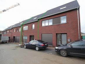 Nouvelle maison 2-façades situé dans un nouveau lotissement qui finit dans un cul de sac à Moorsel (Tervuren). Rez-de-chauss&eacu