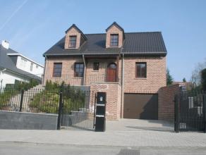 Très belle villa de construction recente dans un cartier résidentielle - tout près du parc de Tervuren et de l'école Angla