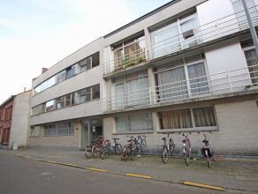 Zeer goed en rustig gelegen appartement/studio met slaapgedeelte boven (duplex), 38m², inkom, leefruimte met open keuken, douchekamer met wastafe