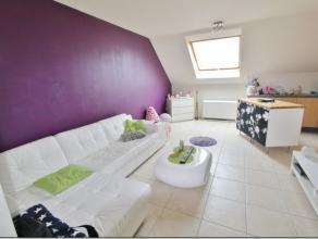Non loin du centre de Tubize, lumineux appartement se composant comme suit: Séjour, cuisine équipée, une grande chambre, salle de