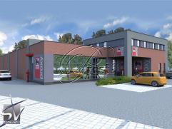Surface commerciale ou de bureaux sur 103m², à louer Sur plus ou moins 103m² au dessus d'un nouveau DELHAIZE, surface commerciale ou