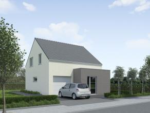 Mooi gelegen nieuwbouwwoning met een grondoppervlakte van 760 m2 voor een open bebouwing met investering van  408.700. De woning wordt op persoonlijk