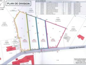 Superbes terrains constructibles, entièrement clôturés, situés en pleine campagne de Neufvilles à 10 minutes de la g