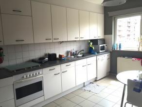 In een rustige residentie op wandelafstand van Leuven centrum. Ruim appartement (130m2) op de 2de verdieping. Indeling : inkomhal met ingebouwde vesti