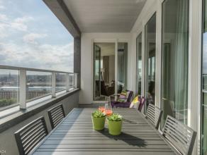 Appartement LOUER Bruxelles 1800 EUR Retour la liste UPSITE TOUR & TAXIS : Dans la plus haute tour Rsidentielle, luxueux appartement meubl de 100m