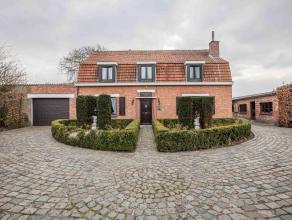 """Karaktervolle landelijke villa op een toplocatie naast het zalige natuurgebied """"Den Bunt"""", op wandelafstand van de Schelde en met een vlotte verbindin"""
