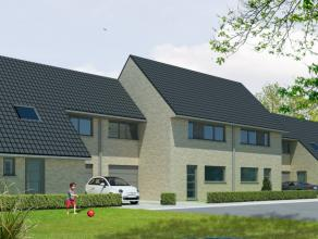 Mooie nieuwe halfopen bebouwing. De woning beschikt over 3 slaapkamers en is voorzien van alle comfort.