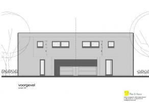2 ruime half open bebouwingen in hedendaagse architectuur Half open bebouwing op onze verkaveling te Mariakerke. Dit woonproject, amper 3 km van Centr