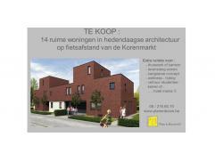 14 ruime woningen in hedendaagse architectuur Dit woonproject, amper 3 km van Centrum Gent gelegen, is een unieke combinatie van een strakke en hedend