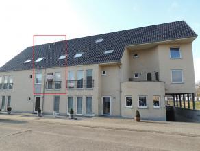 Grote duplex van 146m², in het centrum van Hechtel.Het appartement omvat een inkomhal, gastentoilet, leefruimte, ingerichte keuken (toestel