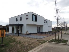 """Deze moderne en bijna-energieneutrale woning bevindt zich in de nieuwe verkaveling """"Burkel"""" te Peer.Het is een kindvriendelijke verkaveling die op wan"""