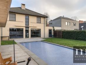 Rustig gelegen villa te Mortsel vlakbij groengebiedDeze moderne villa is gelegen in de Lusthoevelaan 34 te Mortsel, dichtbij het centrum en in de acht