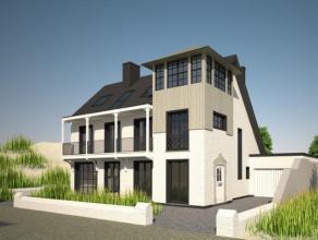 Op één van de meeste unieke locaties van de Belgische kust zijn er slechts enkele losstaande kustvilla?s gelegen aan het strand, 1ste ri