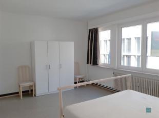 Dit bemeubeld appartement is gelegen in het hart van Leuven op de pittoreske Muntstraat.<br /> Een mooie leefruimte met eetplaats en zuidelijk gelegen