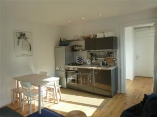 Charming one bedroom apartment really close by the Avenue Louise, close to shops and public transport, a one bedroom apartment on the 2nd floor of a h