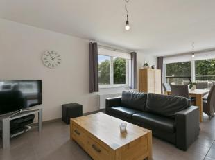 Recent appartement (bouwjaar 2013) met o.a. een bewoonbare oppervlakte van 92m², 2 ruime slaapkamers, zeer ruim terras met aangenaam uitzicht en