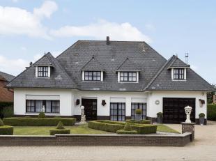Karaktervolle villa in Drieslinter op een perceel van bijna 24 are met o.a. een bewoonbare oppervlakte van 250 m², 3 slaapkamers, prachtige zuid-