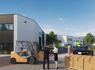 Het bedrijvenpark de Drie Tommen biedt in eerste fase 18 KMO-units te koop van 213 m2 tot 579 m2 met de mogelijkheid om Units samen te voegen of te co