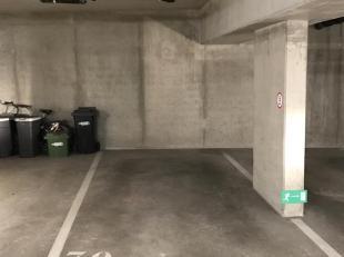 Ondergrondse binnenstaanplaats op een toplocatie in Herent, in residentie Brouwershaven. Wees steeds zeker van een eigen plek voor de wagen en ontloop