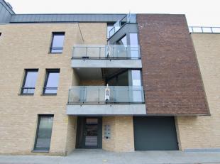 Luxueus twee slaapkamer nieuwbouwappartement op 2de verdieping, inclusief autostaanplaats, 2 min. E40, wandelafstand station Tienen en stadscentrum. B