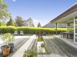 Compleetgerenoveerde villa met 5 slaapkamers, 2 badkamers, garage en Oost/Zuidoost gerichte tuin,gelegen op werkelijk een toplocatie net buiten de sta