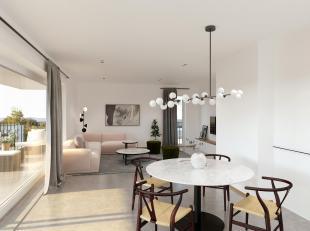 Cet appartement (villa) offre pas moins de 145m² et une terrasse de 10m².Division: hall, living, cuisine, débarras, toilette, 3 chamb