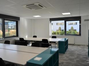 WemmelLespace de bureau moderne se compose dune surface de 77m². De plus, une salle de réunion commune de 70m² est à votre dis
